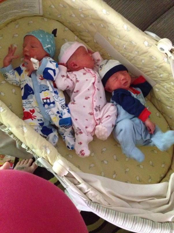 triplets newborn2