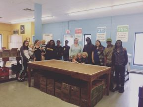 catelli - food bank volunteer