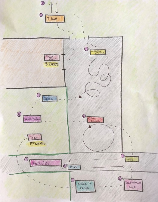 Obstacle Course Map